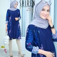 Baju Atasan Wanita Blouse Muslim Shiren Tunik Shofiya