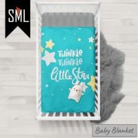 Selimut Bayi / Baby Blanket / Baby Bedsheet / Badcover - Bebas Custom
