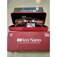 Kacamata Ion Nano Klink Kacamata Terapi k Ion K link WARNA MERAH RED