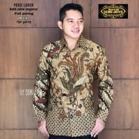 New Kemeja Baju Batik Pria Original Solo Size M L Xl XXl kode A2M