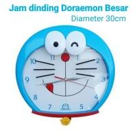 jam dinding doraemon kepala besar high quality