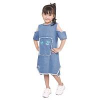 dress anak baju levis pesta anak perempuan pakaian anak cewek FDC0AC