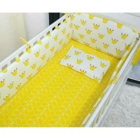 bumper box baby aja motif mahkota