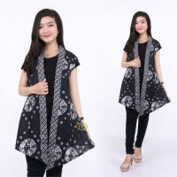 Long Vest Batik Exclusive Batik Atasan Wanita