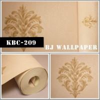 Wallpaper Dinding Murah Bahan Vinyl KBC-209