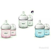 Avent Natural Twin Bottle 125ml - Merah Muda, 125ml