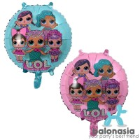 Promo Tahun Baru Balonasia Dekorasi Ulang Tahun Lol Surprise! Ungu Set