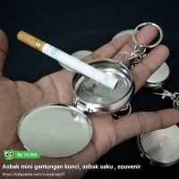 HOT SALE Asbak mini gantungan kunci, asbak saku , souvenir Terjamin