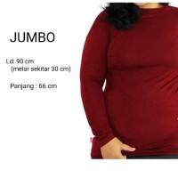 Baju Manset Jumbo XXL Bahan Kaos/Rayon