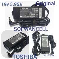 Adaptor Charger Laptop TOSHIBA 19V 3.95A Satellite A100 A105 ORIGINAL