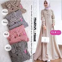 Husna maxy Nt Dress wanita dress remaja dress muslim atasan wanita
