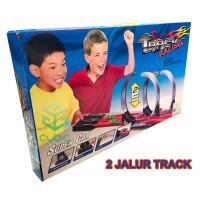 MAINAN ANAK MOBIL BALAP 2 JALUR TRACK RACING