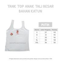 Tank Top Anak Katun Spandek Tali Besar Size XL - Daleman Anak Cotton