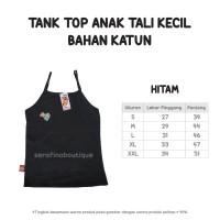 Tank Top Katun Spandek Tali Kecil Size L (Daleman Anak Cotton Spandex)