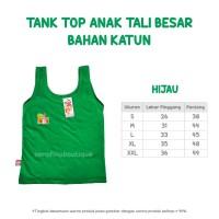 Tank Top Anak Katun Spandek Tali Besar Size M (Daleman Anak Spandex)