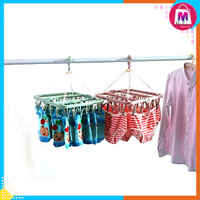 Jemuran Baju Anak 32 Jepitan Hanger Bra Celana Dalam CD Kaos Kaki