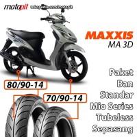Maxxis MA 3D Ban Standar Yamaha Mio Z J Sporty Soul M3 Depan Belakang