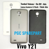 Backdoor Vivo Y21 Penutup Tutup Baterai Casing Belakang Backcase case