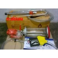 Mesin pertamini pom mini engkol manual fullset GRATIS nozzle & selang