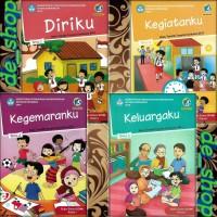 Buku Tematik SD Paket Kelas 1 Tema 1234
