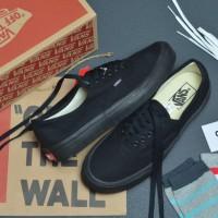 Sepatu Vans Authentic Full Black Premium