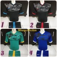 Baju bola futsal spc motif batik