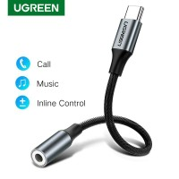 Ugreen Audio Adapter Cable - Kabel Connector Type C to 3.5 mm AUX Jack