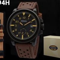 jam tangan pria super premium fosil paket free tali kulit cadangan