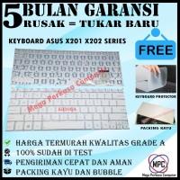 Keyboard Asus VivoBook X201E X201 X202E S200 S200E Putih