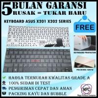 Keyboard Asus VivoBook X201E X201 X202E S200 S200E Hitam