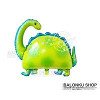 Balon Foil Dinosaurus Mini / Balon Karakter Brontosaurus / Balon Dino