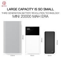 SALE! Power bank MINI TENAGA JUMBO Baterai Besar ORI 20.000 mAh P2606