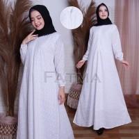 Perlengkapan Umroh Haji/ Gamis Payung/ Gamis Putih