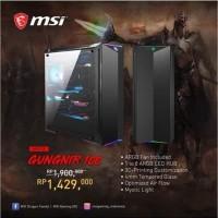 MSI MPG GUNGNIR 100 ATX Gaming Case Tempered Glass Black