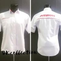 Baju Kemeja Seragam sales Honda Lengan pendek Size XL