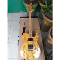 Gitar fender Telecaster H - H Custom Exotic Wood Top Spalted Murah