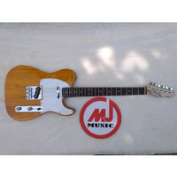 Unik Gitar Elektrik Fender Telecaster Alder Nat Custom Diskon