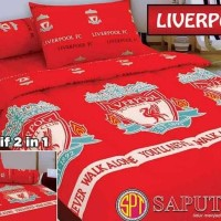 PROMO SET BEDCOVER LIVERPOOL 120X200 - BEDCOVER SINGLE - BAD COVER