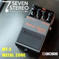 Terpopuler Efek Gitar Boss Metal Zone Mt2 New