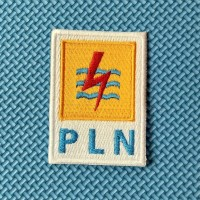 Bordir Komputer Logo Emblem Patch Patches Bet Badge PLN