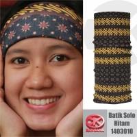 CK Bandana Batik Solo Hitam 1403010