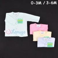 HAYAYO 1 Pcs Baju Lengan Panjang Bayi/Baby Warna (0-6M)