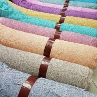 kain brukat cord/bahan kebaya atasan semi cotton fatmawati