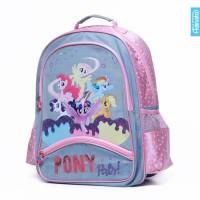 My Little Pony Jeans Backpack XL - Adinata / Tas sekolah Ransel anak B