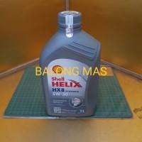 oil mesin oli 1Lt SHELL HELIX HX8 SAE 5W-30