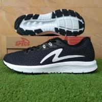 Specs Boston Road 19 (Sepatu Running/Lari) - Black/White