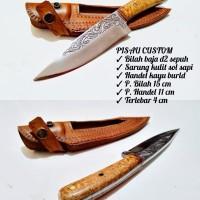 pisau batik custom Baja D2