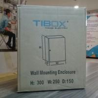 Box Panel Listrik Besi IP65 TIBOX (H)250 X (W)200 X (D)150
