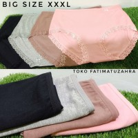 Celana Dalam Wanita JUMBO XXXL IMPORT RENDA , Underwear Cewek JUMBO