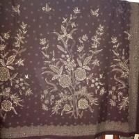 Bahan Sarimbit Batik Tulis Warna Alam 2 Meter